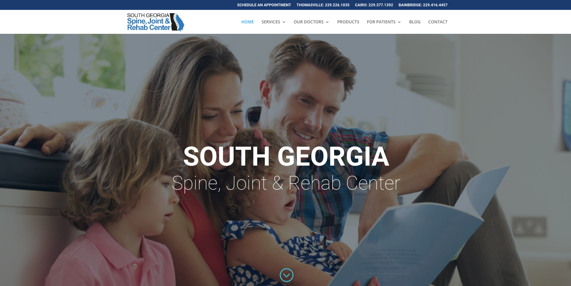 South Ga Spine, Joint